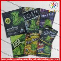 China 4g / 10g Custom Herbal Incense Packaging Bags Colorful Printing With Ziplock wholesale