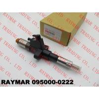 Buy cheap DENSO Genuine common rail fuel injector 095000-0222 for ISUZU 6SD1, 1153003470, 1153003471, 1153003473, 1-15300347-3 from wholesalers