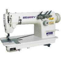China High-Speed Single/Double Needle Chain Stitch Sewing Machine (SK8100/8200) on sale