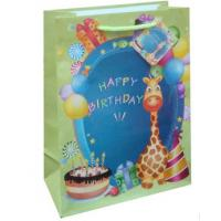 China Very popular birthday design gift packing paper bag in EU market wholesale