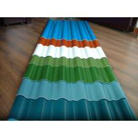 China customized color CGCC, DX51D Z adornment Pre painted Corrugated steel Roof Sheets / Sheet wholesale