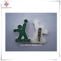 Accept Customized beautiful design and logo handmade badges for clothes
