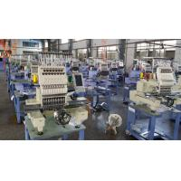 China 450 x 330mm Single Head Computer Embroidery Machine , 150W Lowest Power Consumption on sale