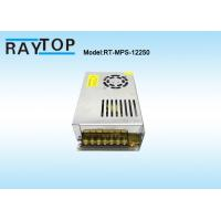 China Cooling Fan CCTV Power Supplies 220V Input AC/DC 12V 20A Metal Case Power Supply wholesale