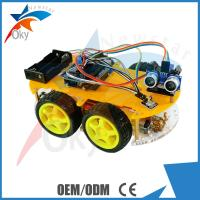 China High Performance Arduino Car Robot Electric Car Chassis , Intelligent Diy Model Car Toy wholesale