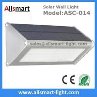 China 1000LM Radar Sensor 48LED Solar Wall Light Wireless Security Garden Wall Mounted Yard Lamp wholesale