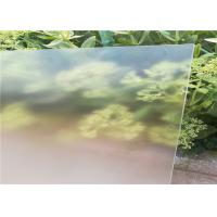 China Ultra White Patterned Tempered Glass , Solar Photovoltaic Glass Low Iron Content wholesale