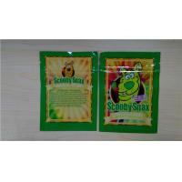 China 4g Scooby Snax Herbal Incense Packaging Bags Scooby Snax Green Apple / Hypnotic Bags wholesale