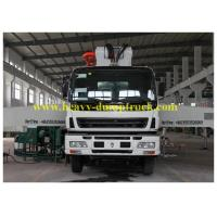 Quality ISUZU truck mounted concrete pump Japan chassis 37m boom with powerful engine for sale