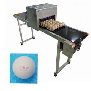 China Egg Batch Coding Machine / Inkjet Date Code PrinterFor Trademarks Or Logo wholesale