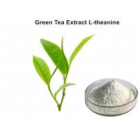 China 100% Natural L - Theanine Green Tea Extract Powder White Healthcare Food For Sleep wholesale