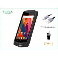 China Android 5.1 3G 4G LTE IP68 Smartphone 5 Inch Rugged Phone With NFC PTT 1D 2D Scanner wholesale