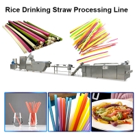 China pasta drinking straws extruder wholesale