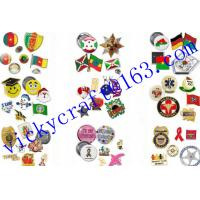 China Free Sample  Metal Pin Badge wholesale