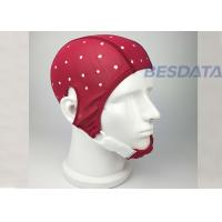 China Customized Wireless EEG Sensors / EEG Empty 10 20 Standard Cap Easy Wash wholesale