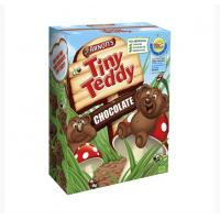 Quality Cubic Cartoon Tiny Teddy Paper Box Packaging For Baby Cookies for sale