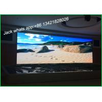 China Customized Big LED Stage Video Screens P6 High Resolution Wide View Angle wholesale