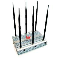 China 70W 2G 3G 4G WiFi Mini Portable Cellphone Jammer Indoor Using 4 Cooling Fan Inside on sale