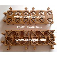 China PB-07 Cheap wood composite deck tile interlocking plastic floor tile wholesale