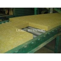 China Rockwool Fireproof Insulation Roof Panel / Fireproof Glass Wool Insulation wholesale