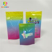 China Smell Proof Zip Lock Snack Packaging Bags , Laminated Custom Printed Snack Bags wholesale