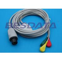 China Universal ECG Cables And Leadwires For GE Dinamap / Critikon OEM / ODM Available wholesale