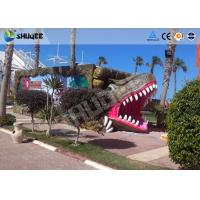 China 9 seats Mobile 7D Movie Theater and Vivid Dinosaur Profile More Appealing To Audiences wholesale