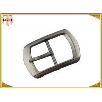 China Single Pin Metal Center Bar Replacement Belt Buckles Zinc Alloy Material wholesale