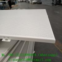 Buy cheap fabric perforated acoustic wall panel for banquet hall decoration from wholesalers