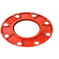 Buy cheap FM UL Approved Ductile Iron Grooved flanges from wholesalers