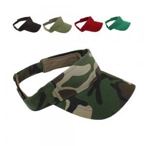 China Colors Sun Visor Hat Adjustable Golf Sports Unisex Cap Patches Panel Style wholesale