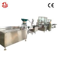 China Vacuum Crimping Oxygen Filling Machine for Oxygen Gas / Fresh Air 2000-3200 cans/ hour wholesale