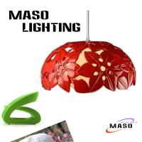 Maso Lighting Indoor Resin Material Cover Snow Shade Pendant Lamp LED Optional Source