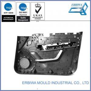 China IATF 16949 Certificated Auto Interior Trim Molding , Car Body Molding Black Car Plastic Door Part on sale