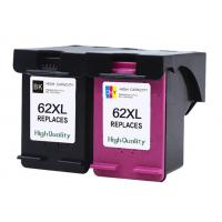China Recycled Refurbished Printer Ink Cartridges For HP 62 XL Multicolor Compatible wholesale