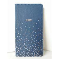China Wooden Free Paper Custom Notebooks And Journals With A Blue PU Cover wholesale