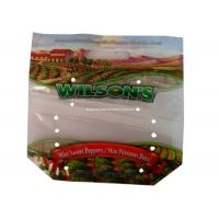 Buy cheap Air Hole Fresh Fruit Bags Gravure Printing , Eco Produce Bags For Grape from wholesalers