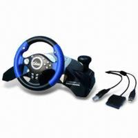 China 5-in-1 Multifunctional Steering Wheel for PSX3, PSX2, USB, Xbox, and PSX wholesale