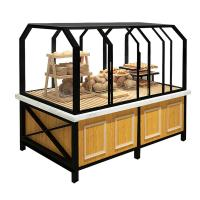 China 3 Years Warranty Food Store Shelving Bakery Display Shelves For Cake wholesale