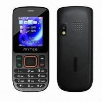 China Dual-SIM Phones with 1.77-inch TFT, QCIF 176 x 220P, Torch, BT, FM, GSM GSM900/1,800MHz wholesale