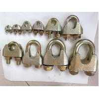 China DIN 1142 Standard Electric Cable Wire Clips Electro Galvanized Surface wholesale