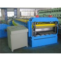 China Automatically Silo Metal Roll Forming Machine by Gear with Hydraulic Cutting System wholesale