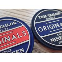 China High Quality Customized Garment Labels 3D PVC Rubber Silicon Bag Label Patch wholesale