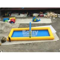 China Outdoor Inflatable Sports Games PVC Inflatable Water Volleyball Court wholesale