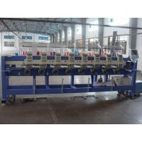 China High Speed Tubular Embroidery Machine For Work Uniforms 8 Inch Monitor wholesale
