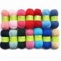 China Acrylic Yarn for Hand Knitting, Available in Various Colors wholesale