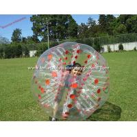 China Adults Inflatable Bubble Ball , Exciting Loopy Ball Soccer With Red Cordlock wholesale