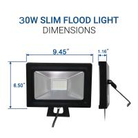 Quality 30W IP65 Super bright LED Flood Lights, 60W Halogen Lights Equivalent Replacemen for sale