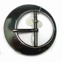 China Metal Buckle, Made of Zinc-alloy Material, with 27.8mm Inside bar and Prong wholesale