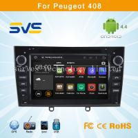 China Android 4.4 car dvd player GPS navigation for Peugeot 408 308 with radio bluetooth, usb sd wholesale
